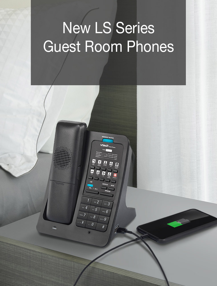 New LS Series - Guest Room Phones