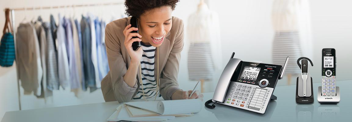 ba86b4b6731 4-Line Small Business Phone System