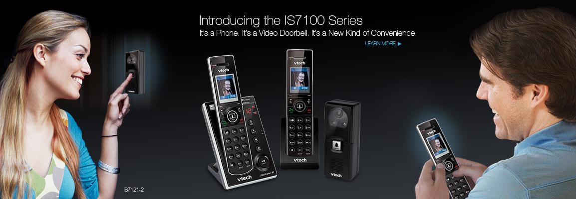 Official Vtech 174 Video Doorbell System Video Monitoring