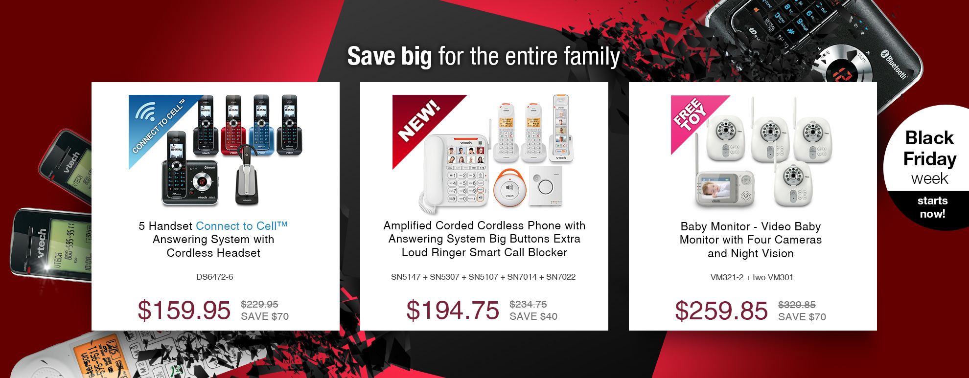 Save big for the entire family