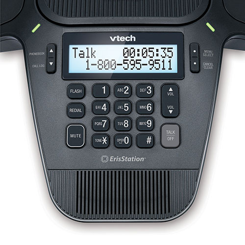 ErisStation® Conference Phone with Four Wireless Mics