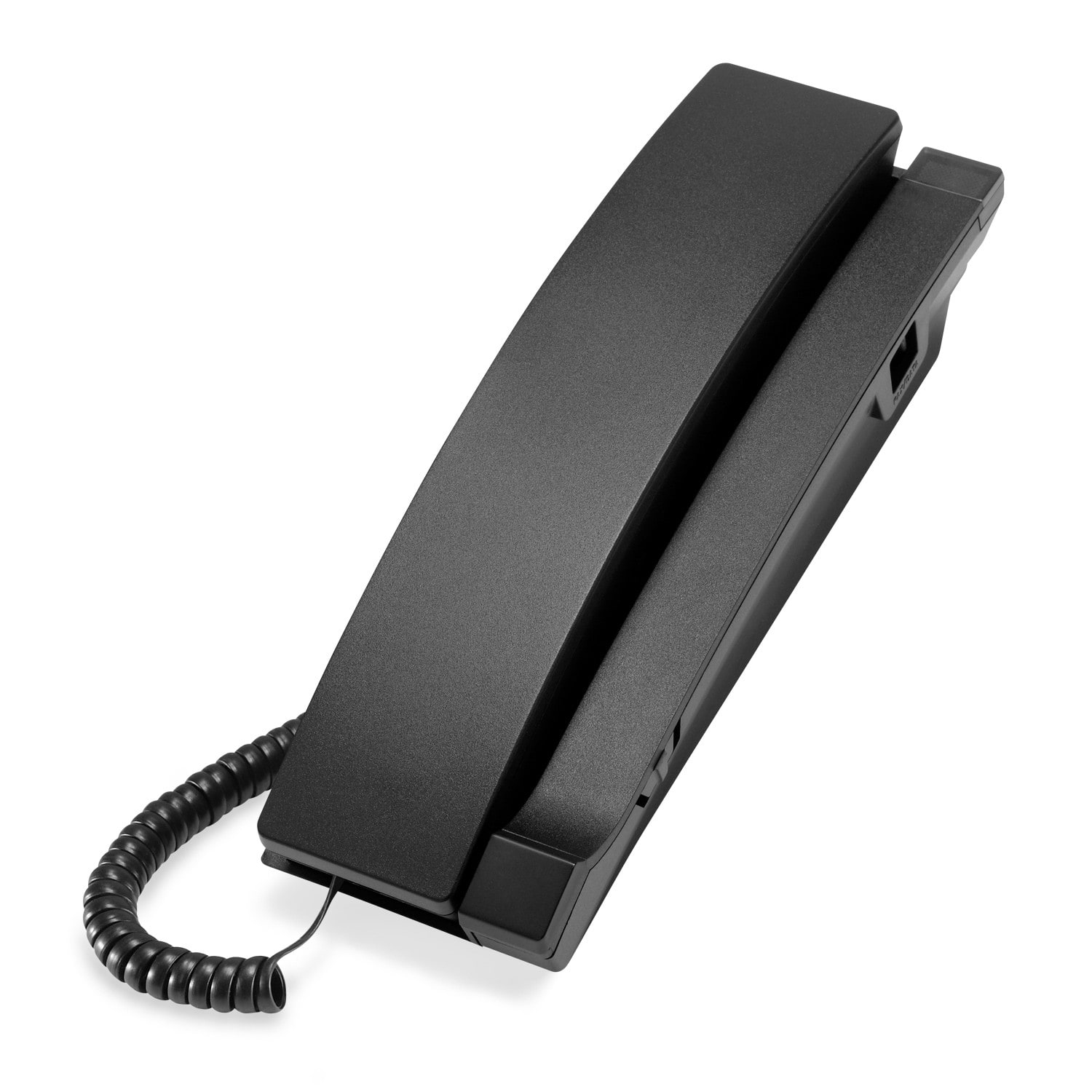 Image of 1-Line Contemporary Analog TrimStyle Phone with No MWI | A2310-NM Matte Black