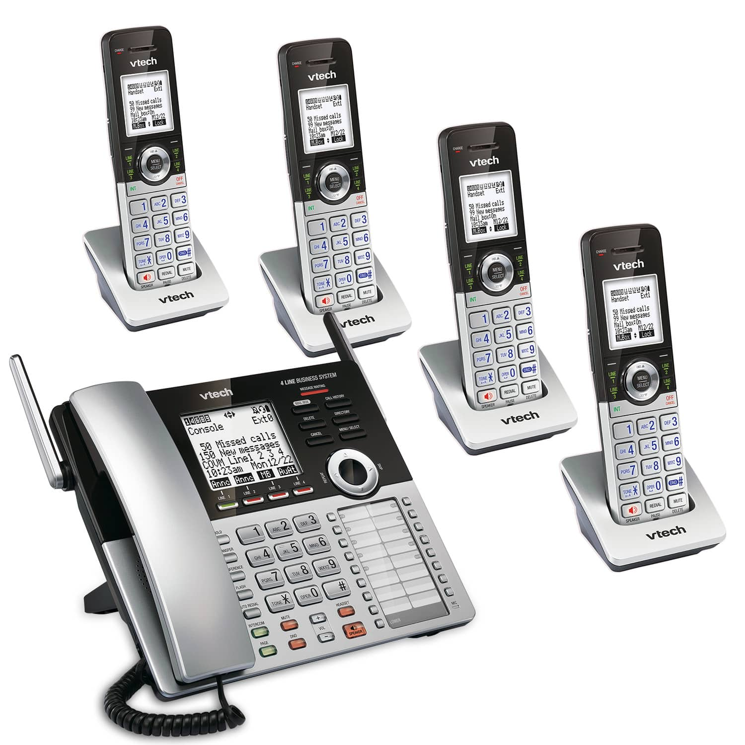 7fdf1abcc9f 4-Line Small Business Phone System Mobility Bundle 1