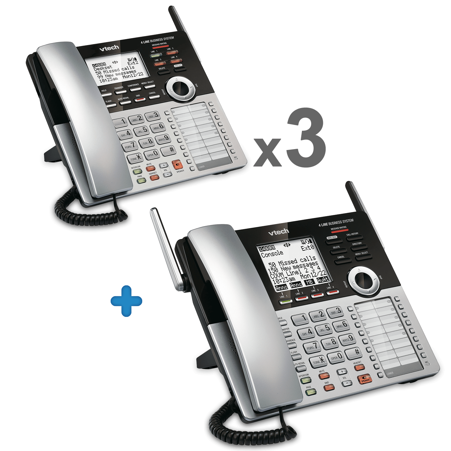 0d151780c6a 4-Line Small Business Phone System Starter Bundle