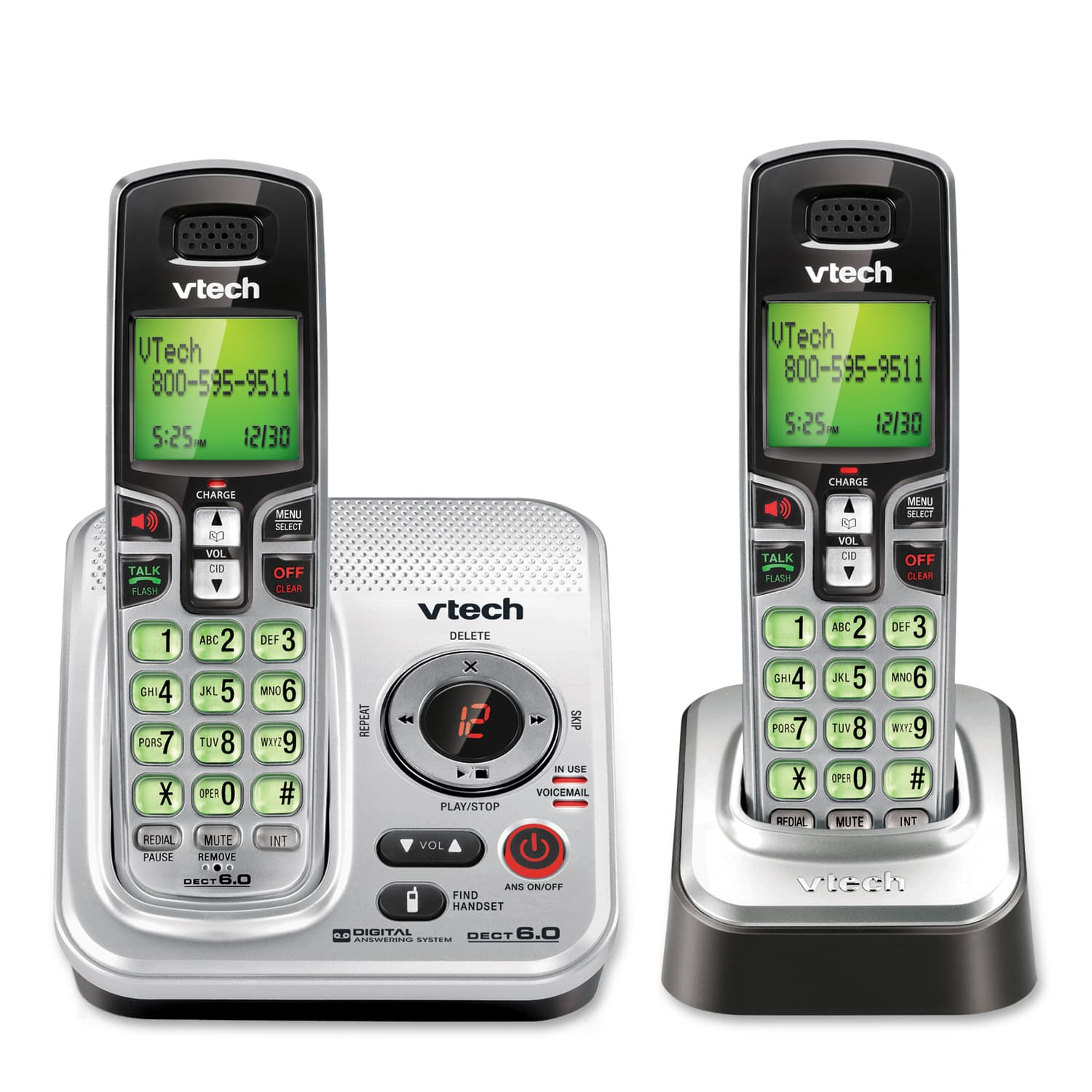 a house phone home phones way to stay connected at home 2 Handset Answering System with Caller ID-Call Waiting
