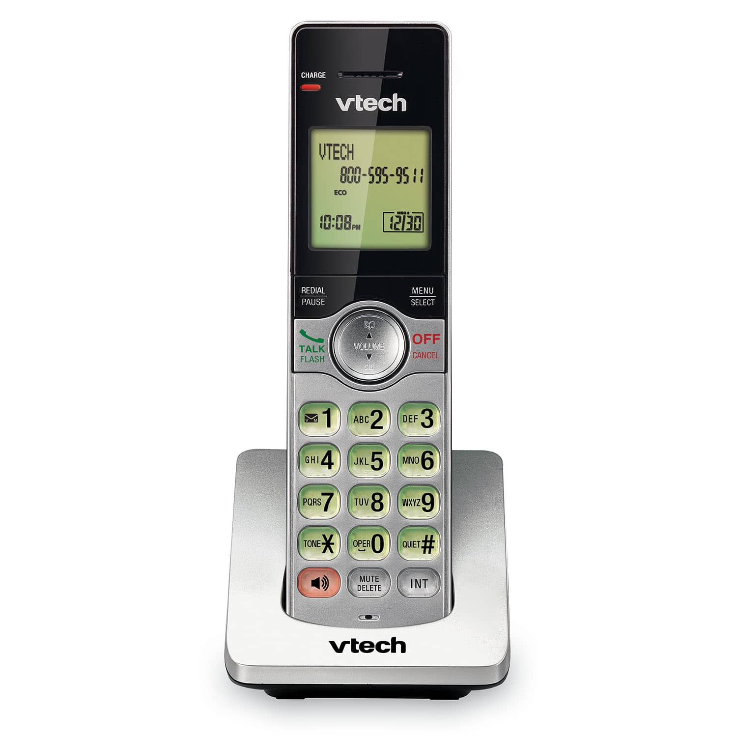 BRAND NEW VTech CS6114 DECT 6.0 Cordless Phone with Caller ID//Call Waiting White