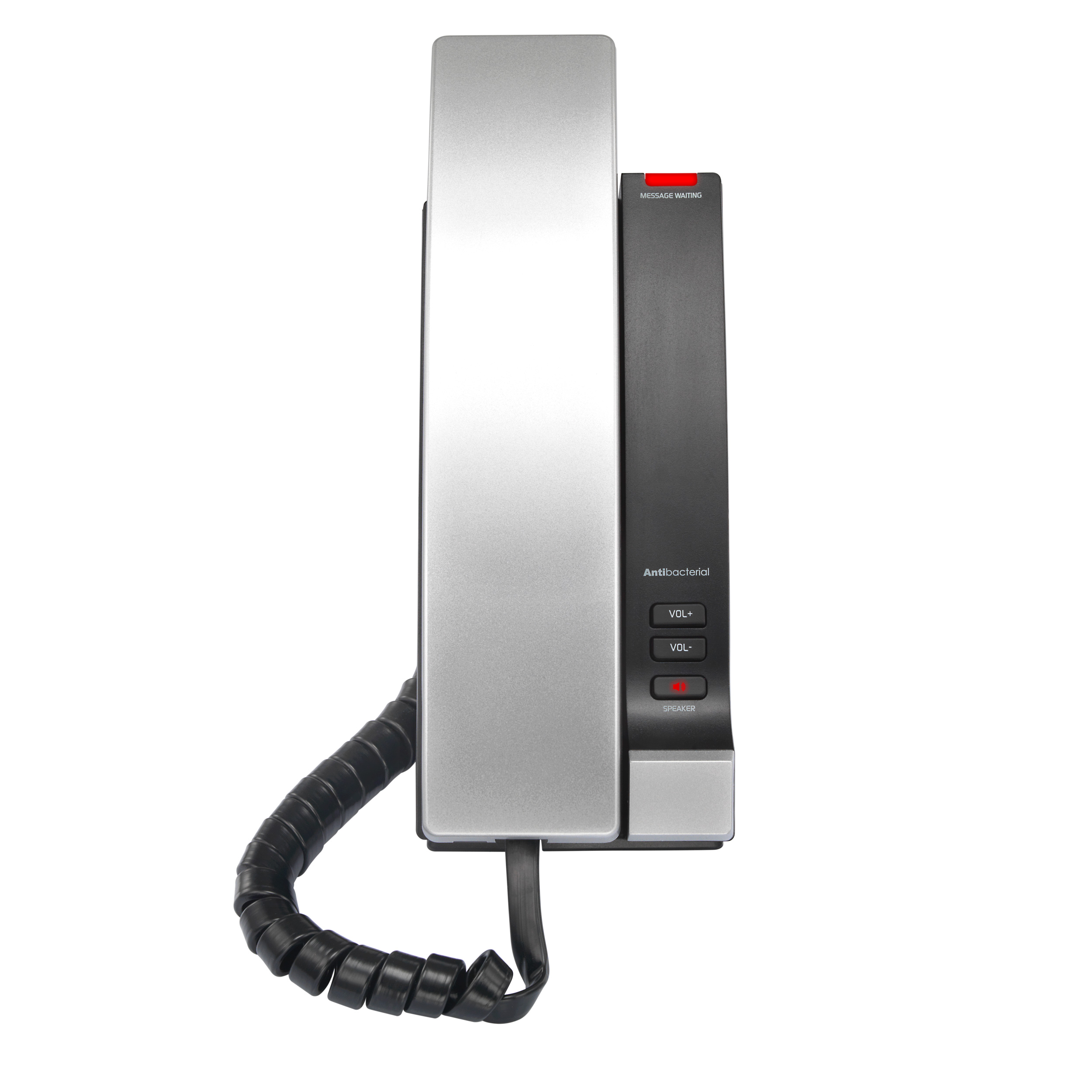 Image of 1-Line Contemporary SIP Corded Phone | CTM-S2315 Silver Black