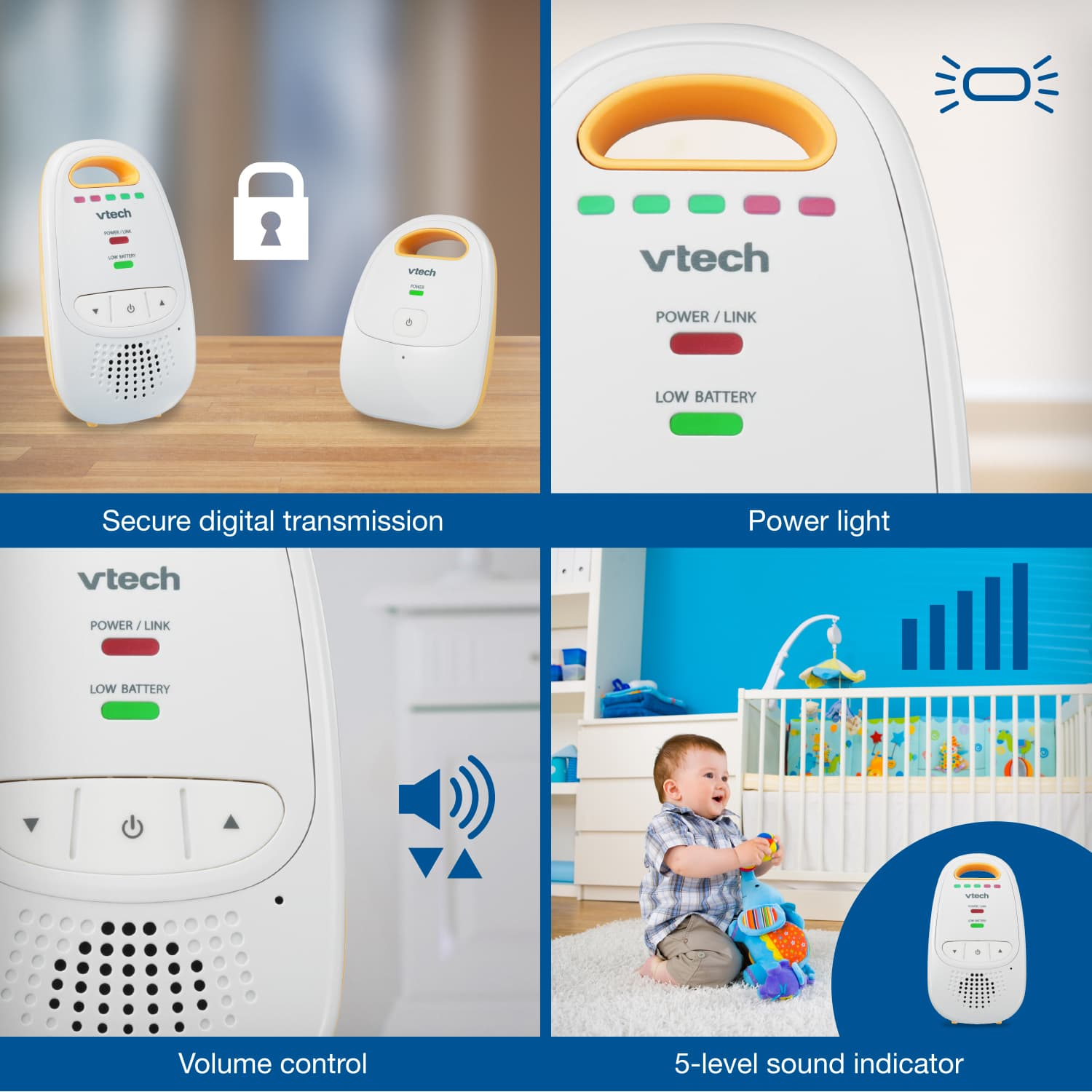 Baby Monitor - Digital Audio Baby Monitor