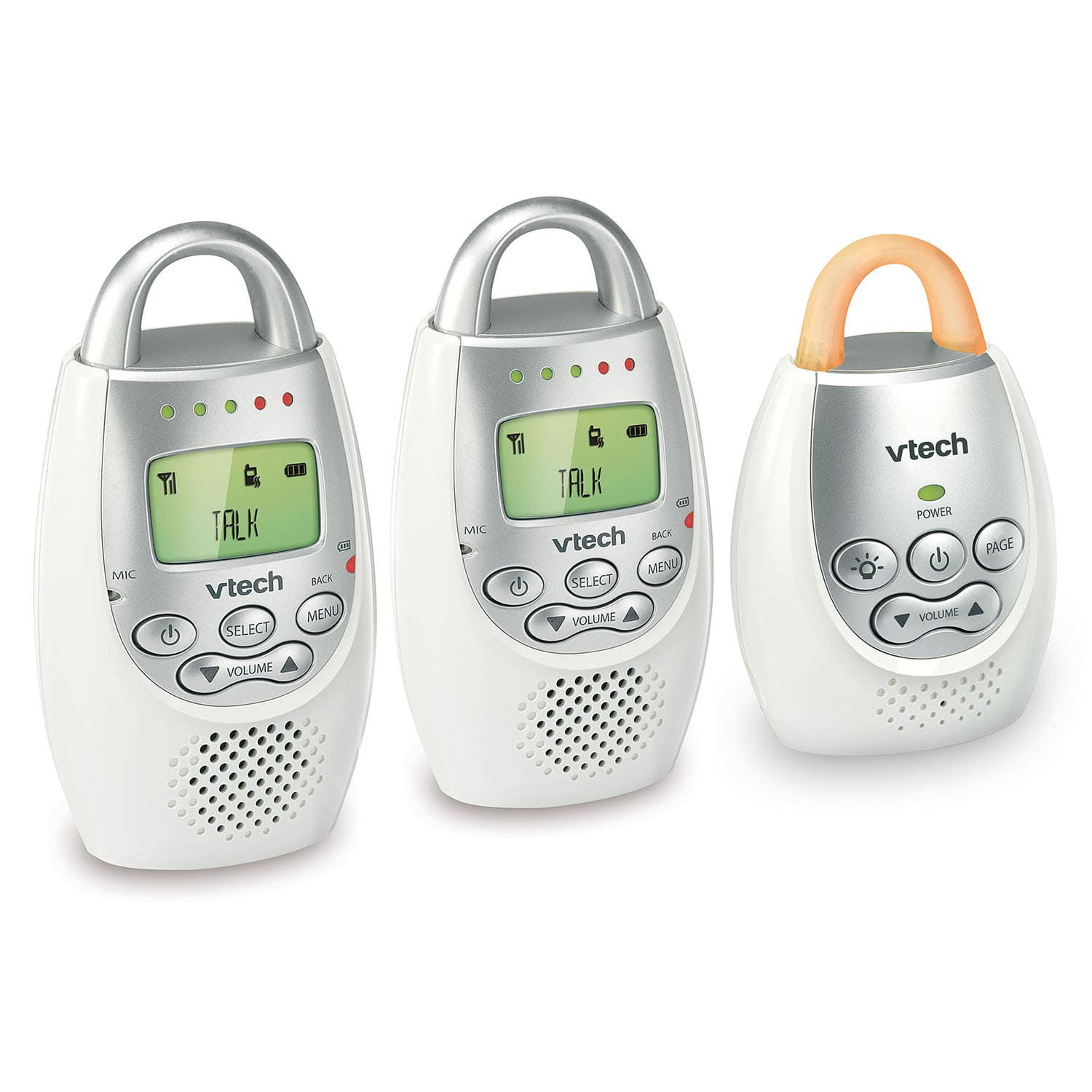 Baby Monitor - Digital Audio Baby Monitor with Two Parent Units