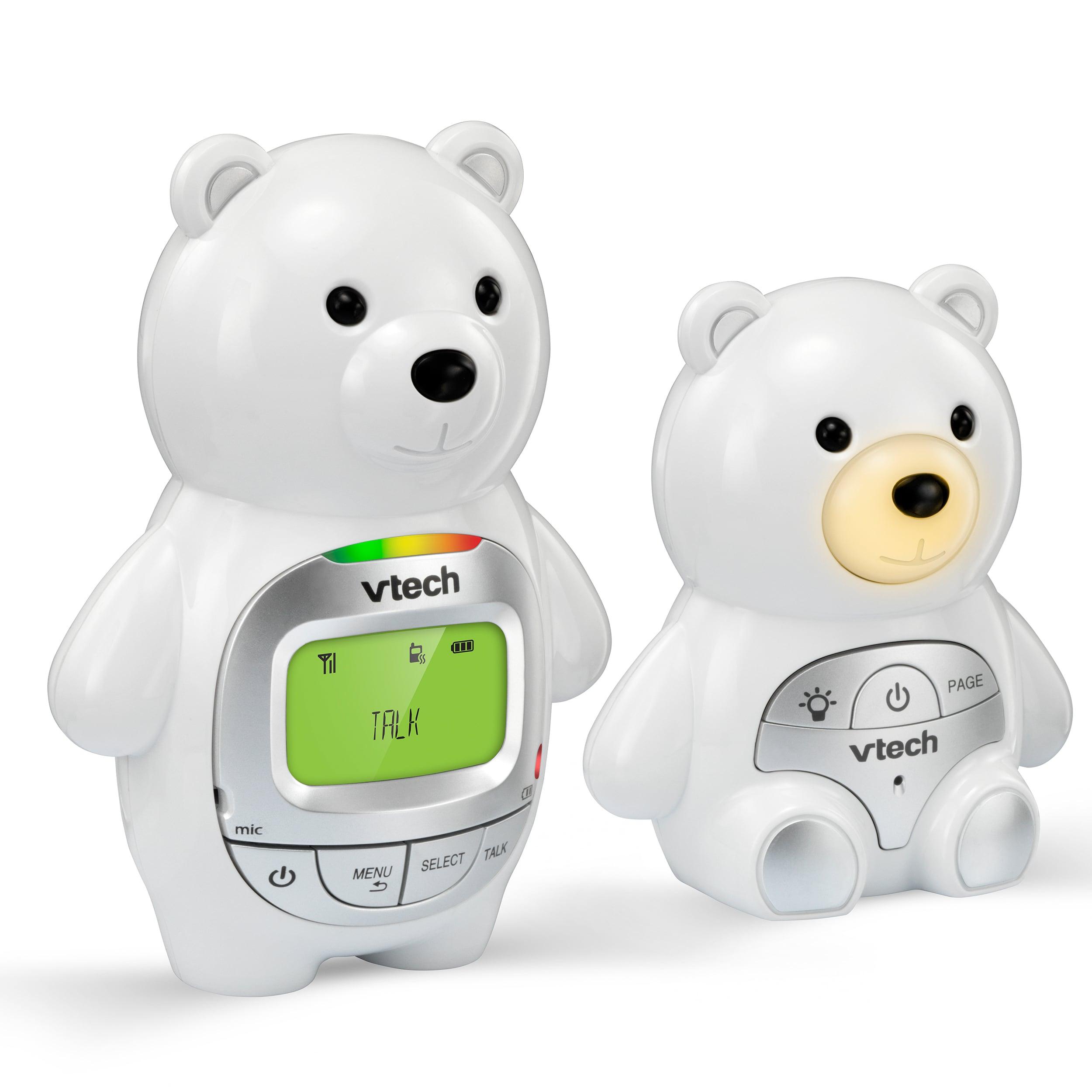 Teddy Bear Digital Audio Baby Monitor With Night Light