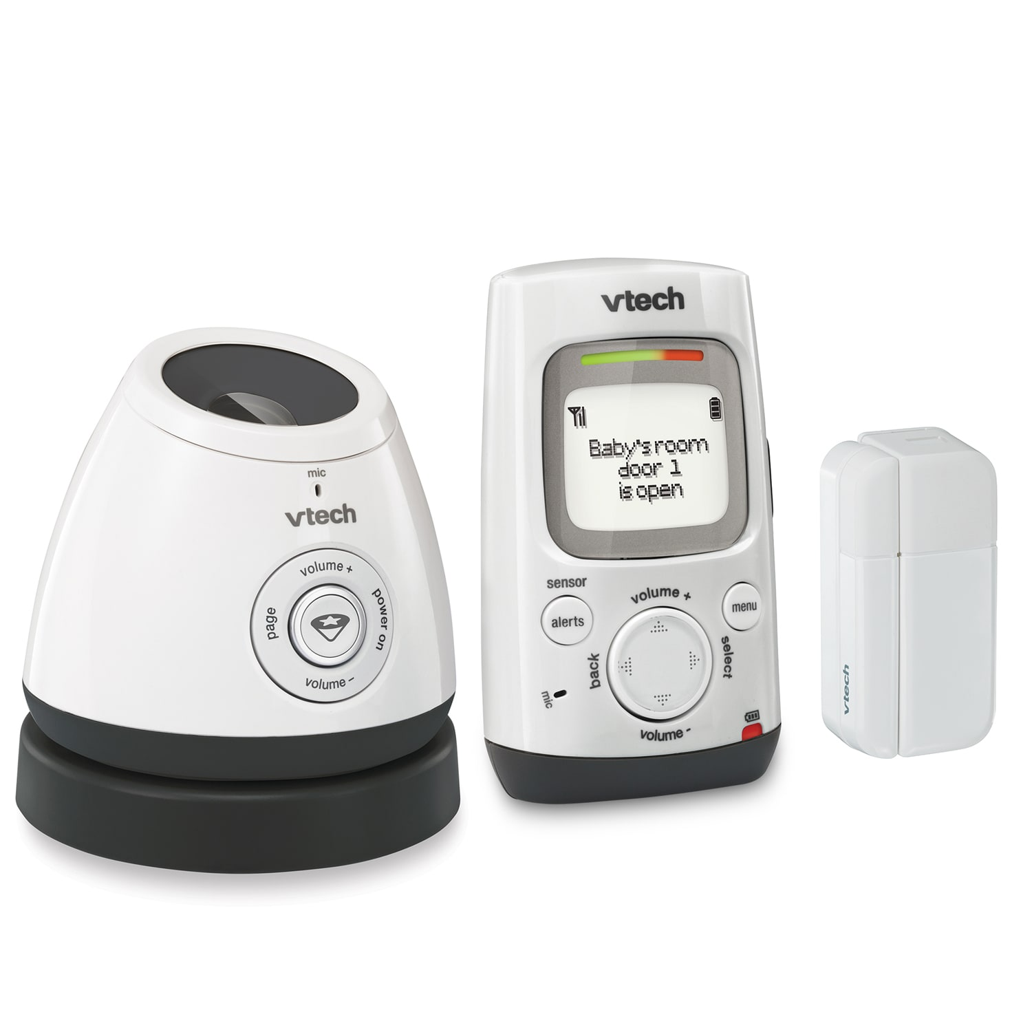 Baby Monitor - Digital Audio Monitor with Open/Closed
