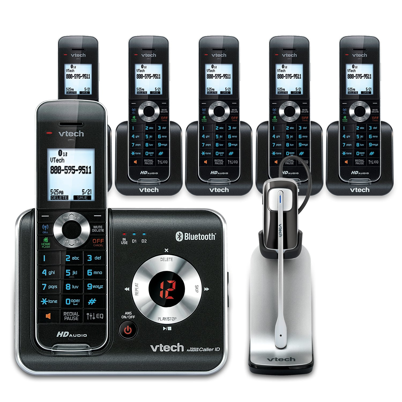 Cordless Phone Bundles with 6 Handsets   VTech Store   VTech USA
