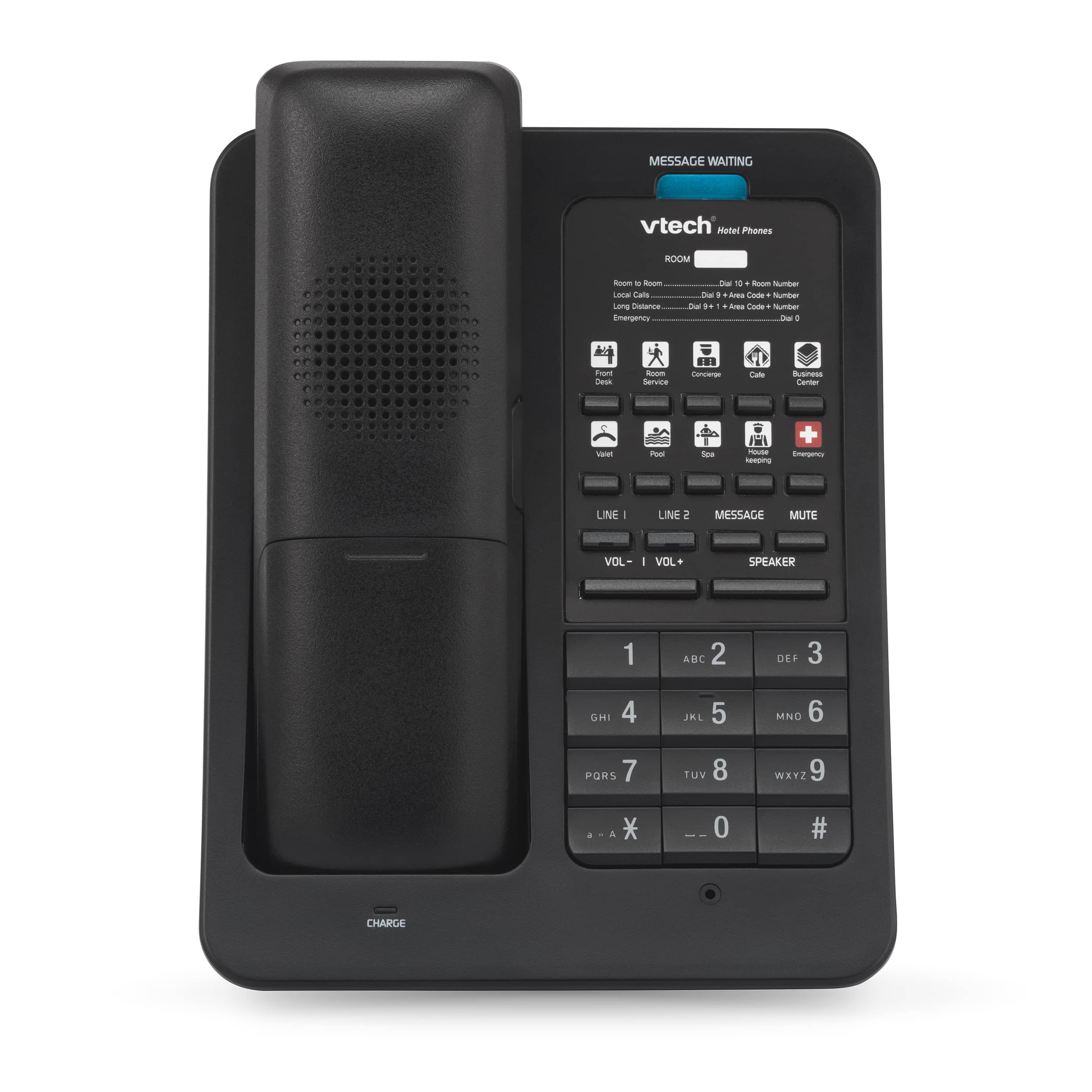 Image of 2-Line Color SIP Cordless Phone | LS-S3420