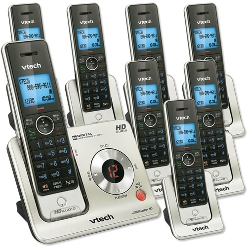 8 Handset Answering System with Caller ID/Call Waiting