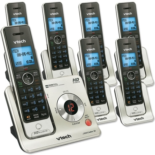 7 Handset Answering System with Caller ID/Call Waiting
