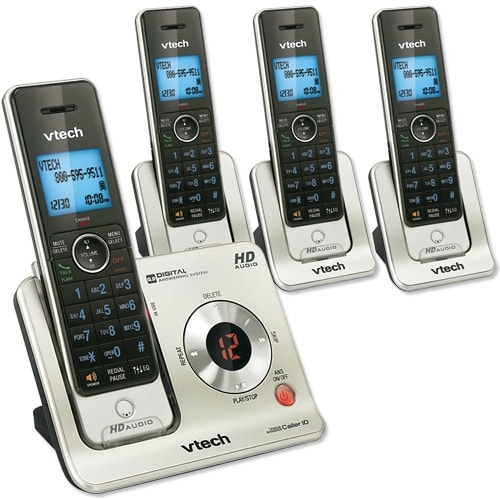 4 Handset Answering System with Caller ID/Call Waiting