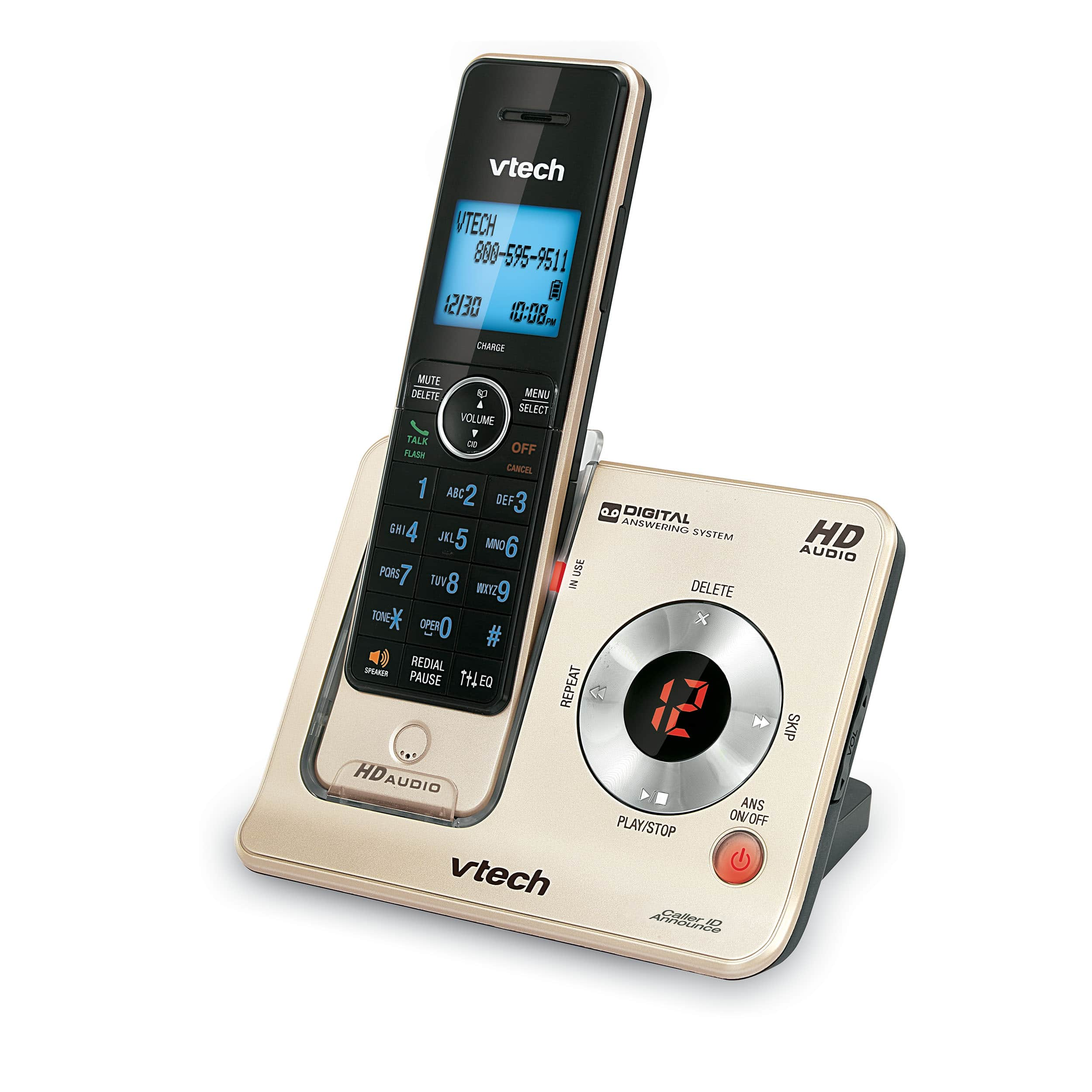 3 Handset Phone System with Caller ID/Call Waiting