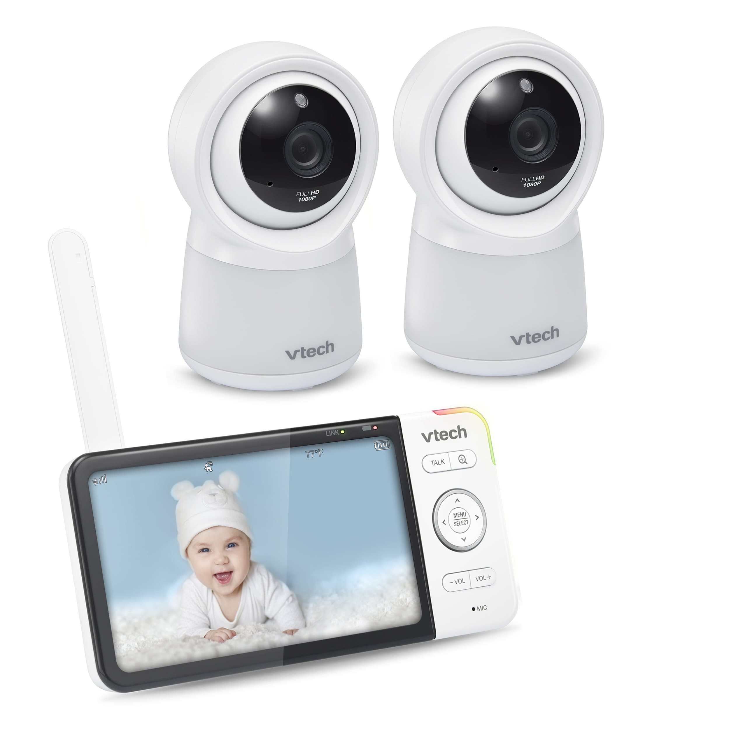 Wi-Fi Remote Access Video Baby Monitor with 5
