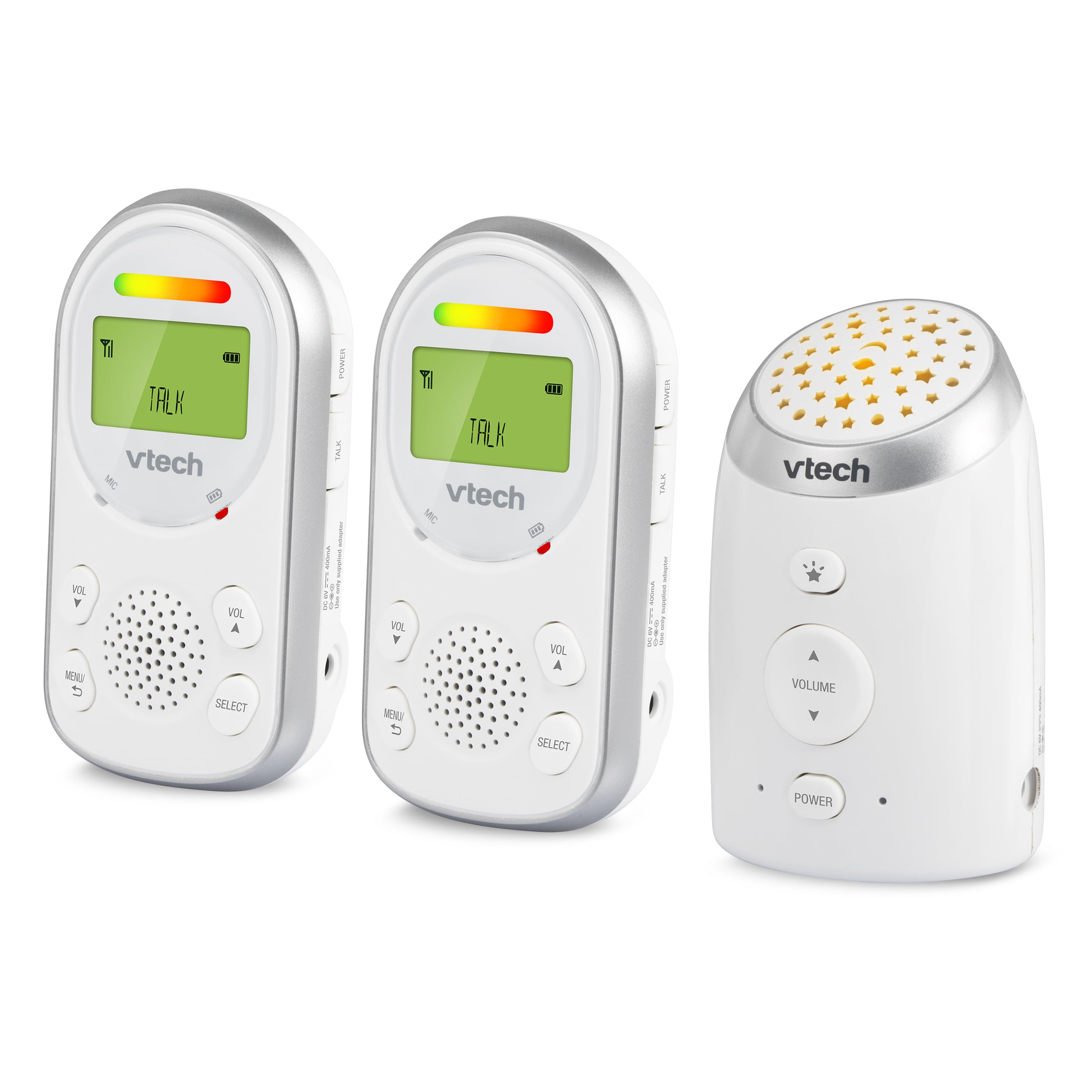 Baby Monitor - Digital Audio Monitor with Two Parent Units
