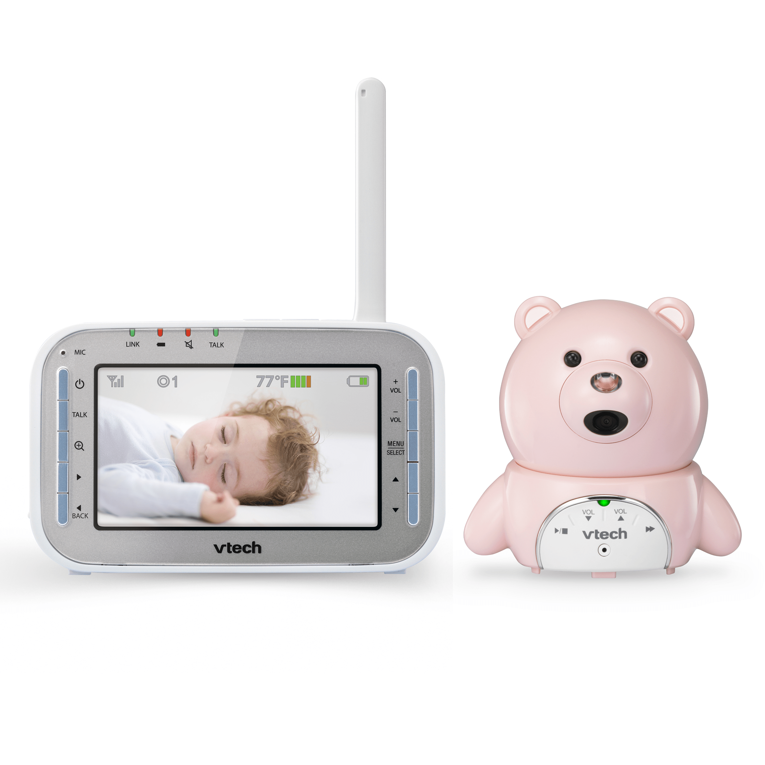 0751ea97bfdda Baby Monitor - Bear Expandable Digital Video Baby Monitor with Automatic Night  Vision