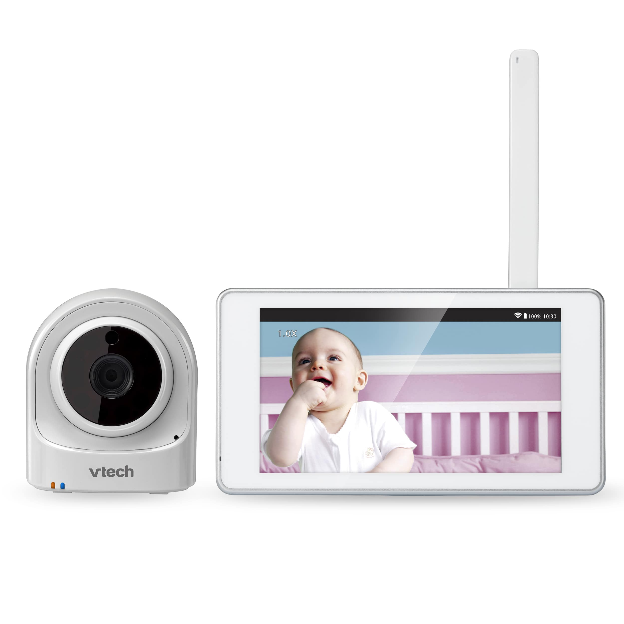 Expandable Wireless Hd Video Baby Monitor With 1 Wi Fi Camera And 5 Touch Screen Vm981 Vtech Cordless Phones