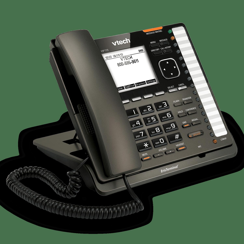 Eristerminal Sip Deskset Vtech Business Phones Wireless Intercom Ac Power Line Cordless Systems Up To 1000 Previous